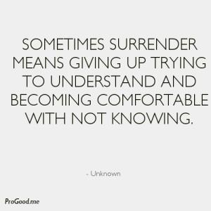 Unknown-Sometimes-Surrender