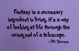 Dr Seuss fantasy
