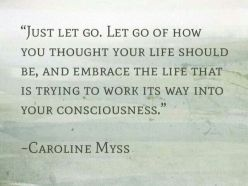 Carolyn Myss Let go