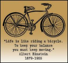 Albert Life is like cycling