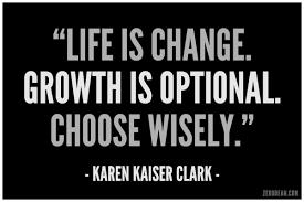Life is change citation